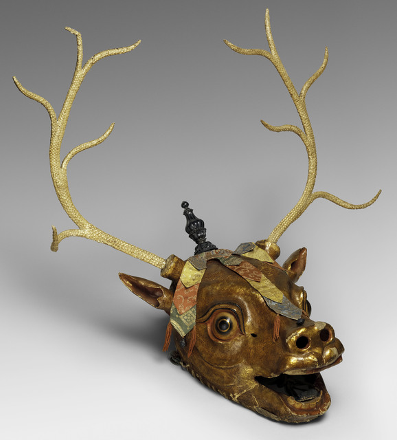 , 'Stag Mask,' Late 19th–early 20th century, The Metropolitan Museum of Art