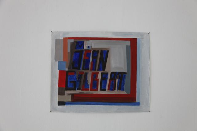 , 'M. Jean Gilbert,' 2016, Ignacio Liprandi Arte Contemporáneo