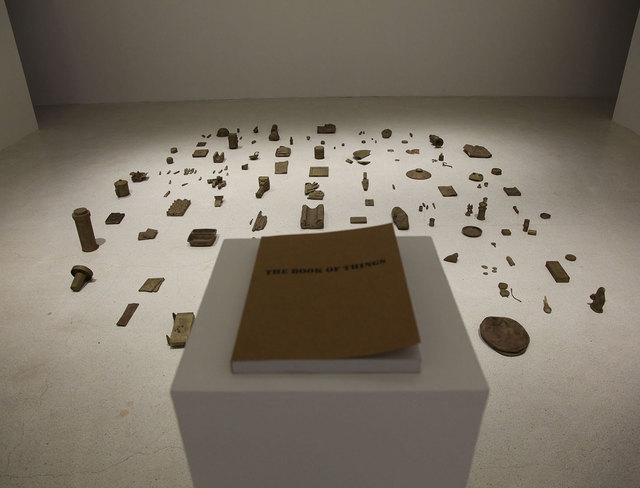 , 'The book of things,' 2015, In Situ - Fabienne Leclerc