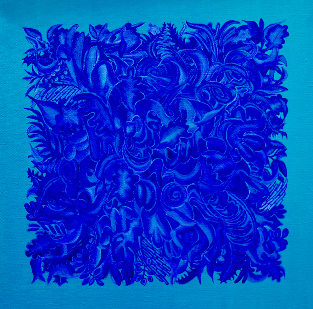 , 'Hidden Within The Blue,' 2018, White Court Art