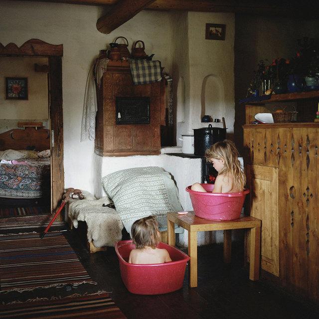 , 'Two girls having a bath, Carpathian Mountains, Romania.,' 2013, Galerie Clémentine de la Féronnière
