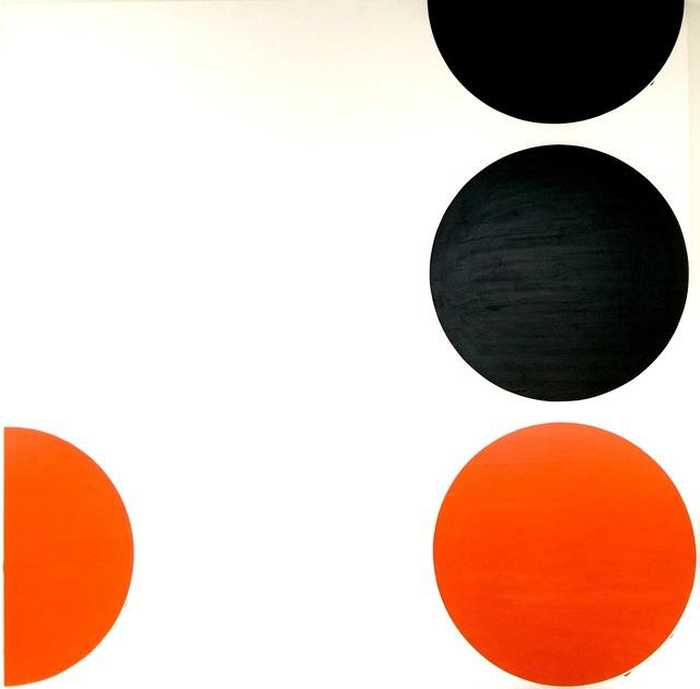 , 'Orange 4,' 2017, Galerie Bart