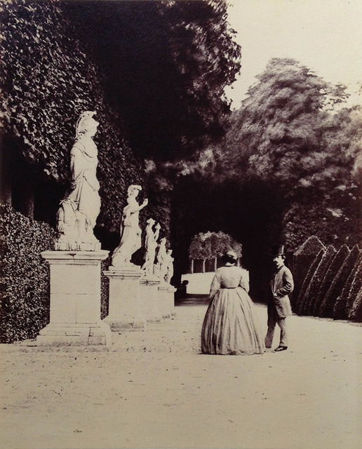 Pierre-Louis Pierson, 'On the Grounds of the Estate of the Duc d''Aumale', 1870s/1870s, Contemporary Works/Vintage Works