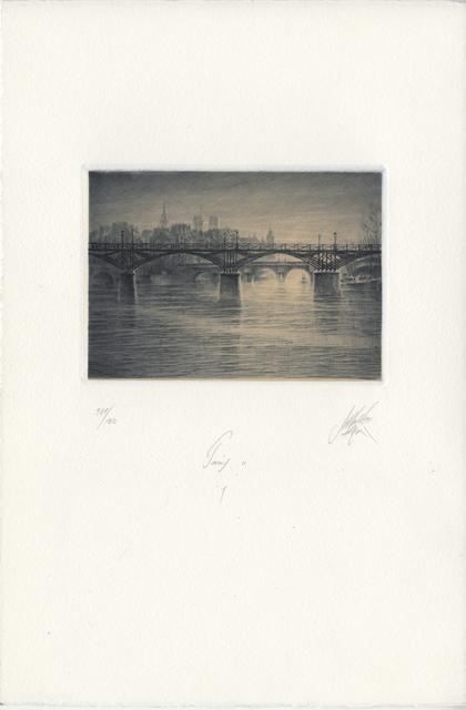 Jean Michel Mathieux-Marie, 'Paris II: 1', Unknown, Childs Gallery