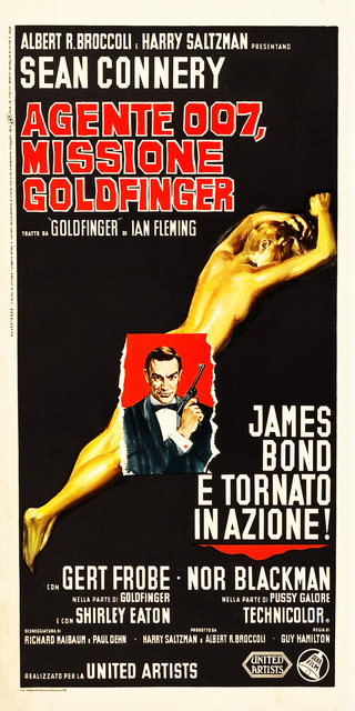 , 'JAMES BOND 007 - GOLDFINGER - SEAN CONNERY,' 1964, Omnibus Gallery