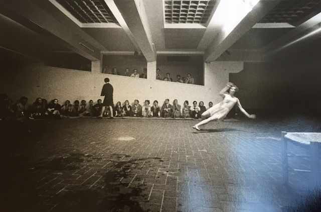 , 'Trisha Brown 'Skunk Cabbage, Salt Grass and Waders' Performed at 'Danza, Volo, Musica, Dinamite' festival, l'Attico, Rome, 9-23 June 1969. Photos by Claudio Abate,' 1969, Richard Saltoun