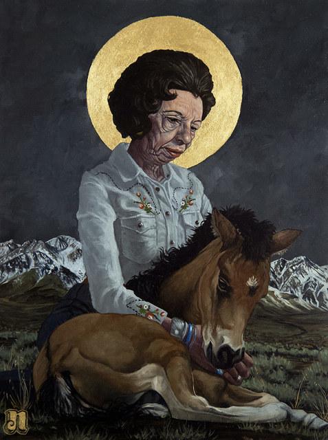 , 'Wild Horse Annie,' 2018, Modern Eden
