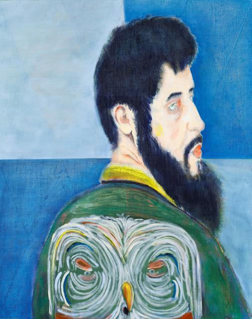 , 'Man becomes Owl,' 2017, Galerie EIGEN + ART