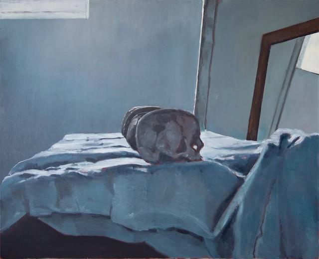 , 'Quatre Crânes,' 2010, Galerie Peter Kilchmann