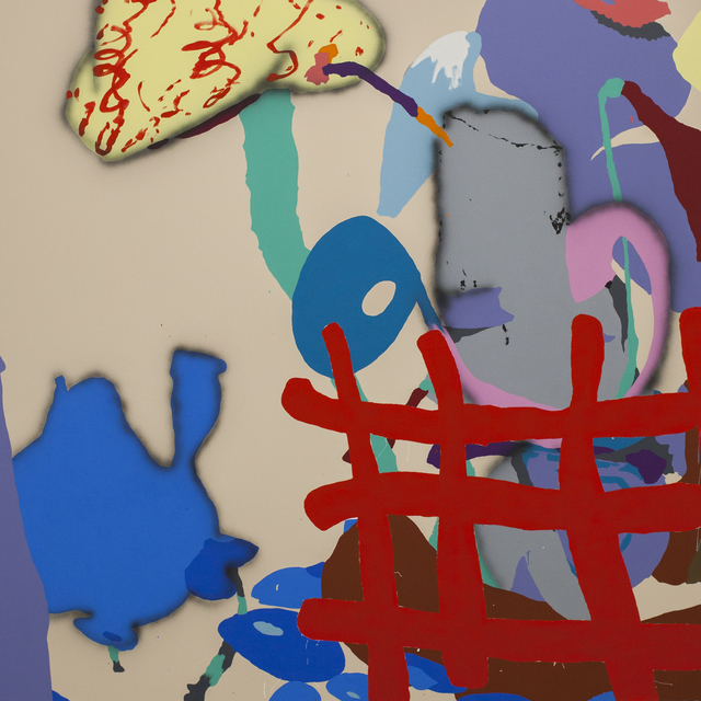 , 'Red net,' 2017, Ruttkowski;68