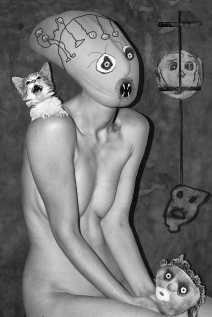, 'Scared Cat,' 2016, DITTRICH & SCHLECHTRIEM