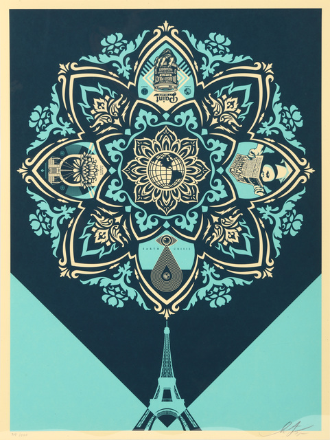 Shepard Fairey (OBEY), 'A Delicate Balance 2', 2015, Chiswick Auctions