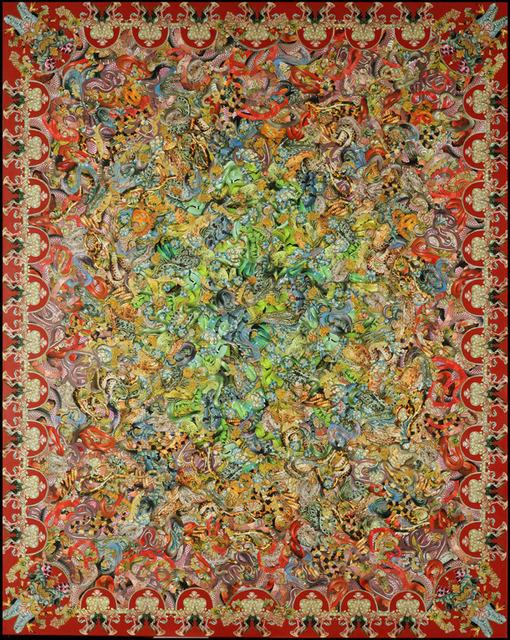 , 'Mantel para la mesa de los grandes acuerdos,' 2006, Gachi Prieto