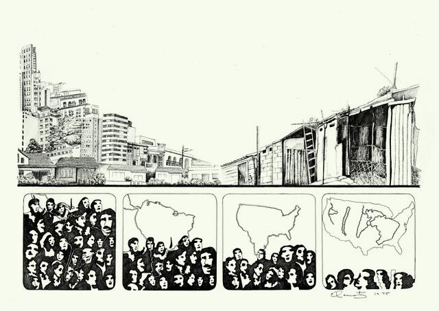 , 'De la Realidad: Relevamientos para el sueño de la casita propia. Documentación II,' 1975, Henrique Faria   Buenos Aires