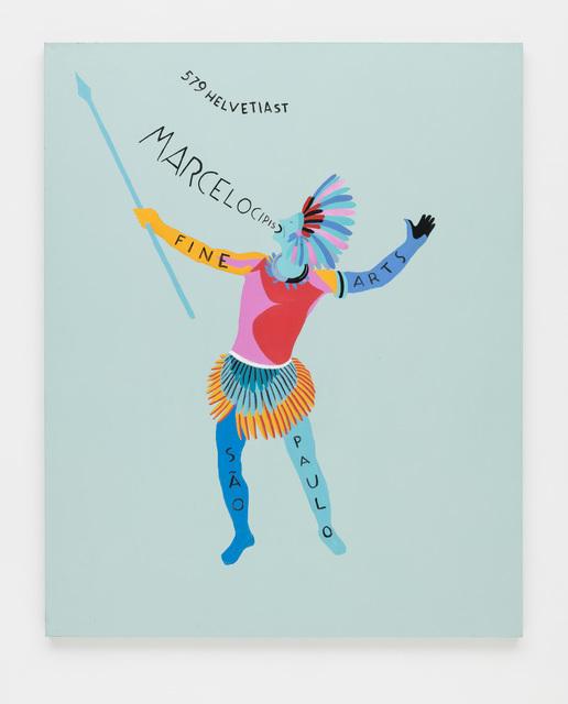 , 'Cartão de visitas com índio / Business card with indian,' 2013, Bergamin & Gomide