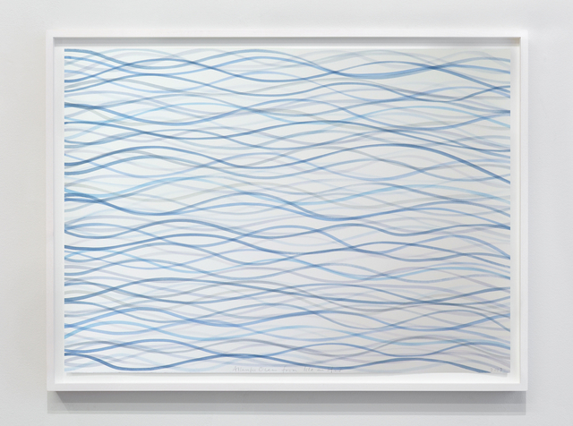 , 'Atlantic Ocean from Isle au Haut,' 2017, Galerie Nordenhake