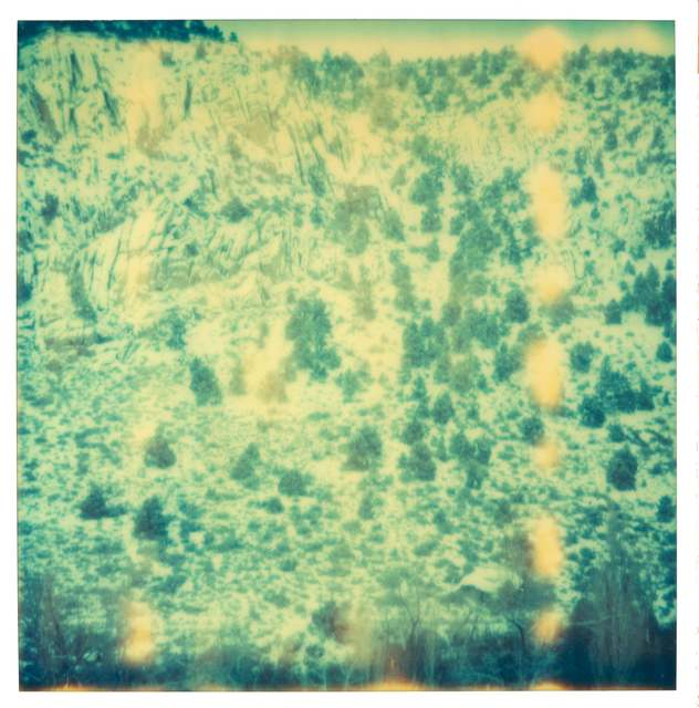 Stefanie Schneider, 'Magic Mountain II (Memories of Green)', 2003, Photography, Analog C-Print, hand-printed by the artist on Fuji Crystal Archive Paper, based on a Polaroid, not mounted, Instantdreams