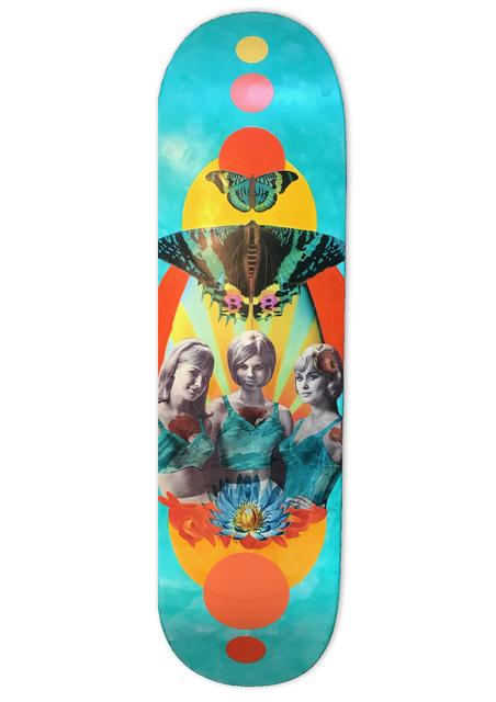 Susan Haynsworth, 'Sidewalk Surfer Girls', 2019, Miller Gallery Charleston