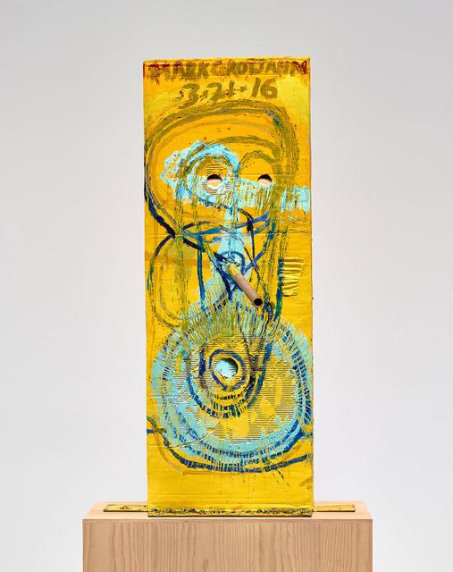 , 'Untitled (Yellow Cosco II Mask M40.l),' 2016, Gagosian