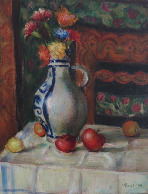 , 'Chrysanthemums and Apples,' 1939, Bakker Gallery
