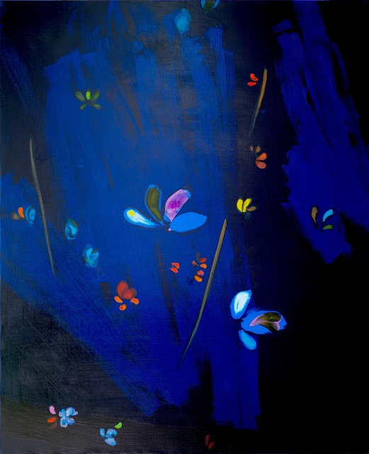 , 'Kimono bleu,' 2018, Mazel Galerie