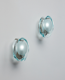 "Pair of ""Micro"" wall lights, model no. 2093"