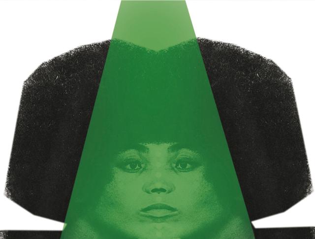 , 'Split Representation / Angela Davis(Green),' 2014, Charim Galerie