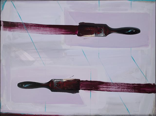 , 'WineBrushes,' 2018, Desta Gallery