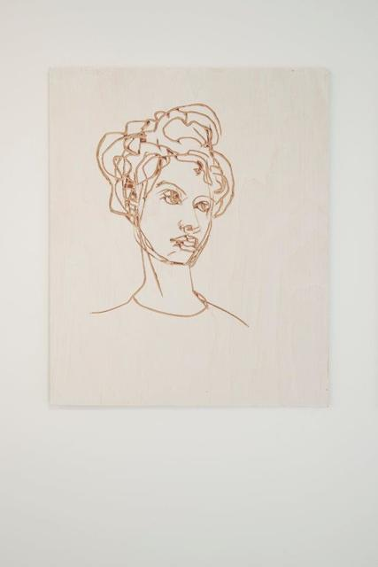 , 'Relief Zeichnung Frau (Relief drawing woman),' 2014, Deweer Gallery
