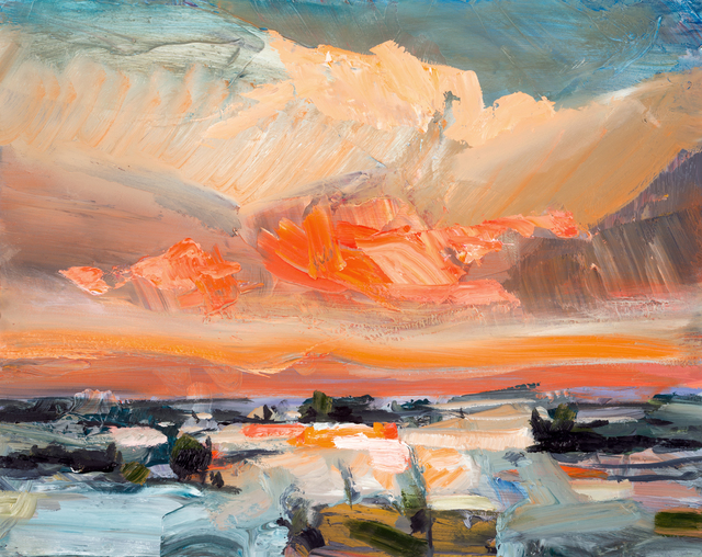, 'Sunset and Snow ,' 2016, Oeno Gallery