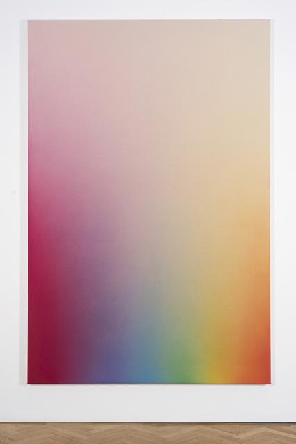 , 'Spectrum Fade (Magenta, Violet, Blue, green, yellow, orange, red),' 2017, Vigo Gallery