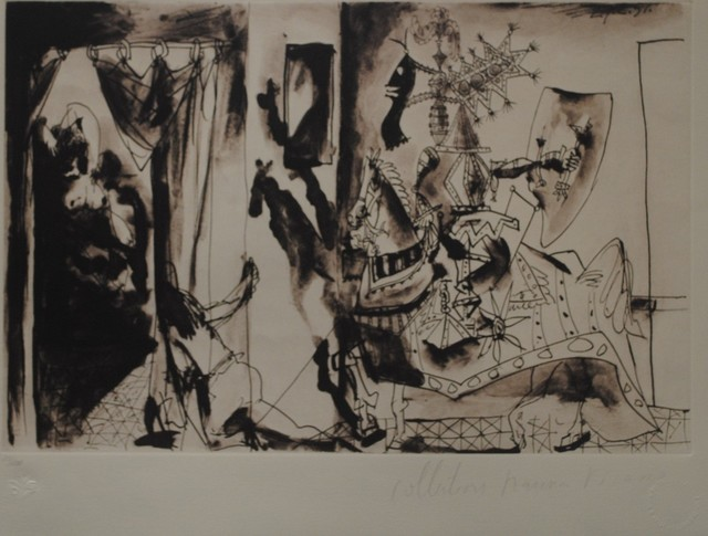Pablo Picasso, 'Chevalier en Armure', 1979-1980, Golden Eagle Art Gallery
