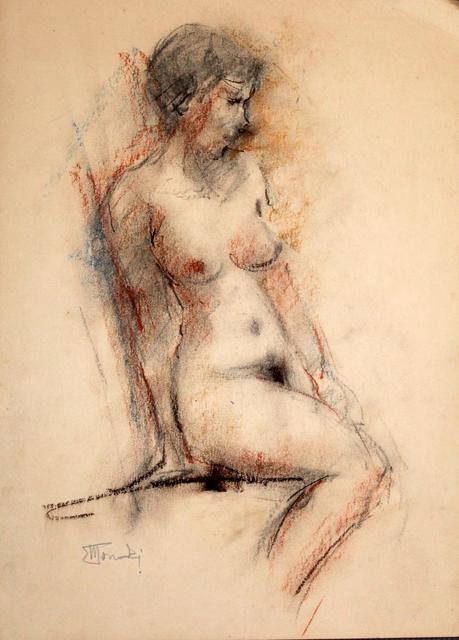 , 'Perfil nu  |  Profile Naked ,' 2004, Galeria Canoa