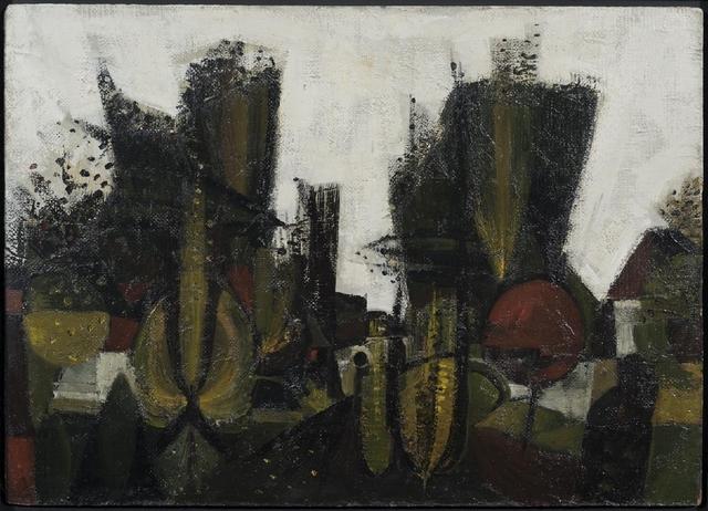 , 'Wet Autumn Evening,' 1953, Osborne Samuel