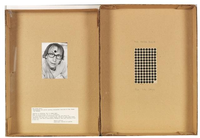 , 'The Paper Brain for 103 days,' 1972, Richard Saltoun