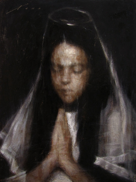 Vincent Xeus, 'First Step in Faith', 2013, Painting, Oil, Gallery 1261