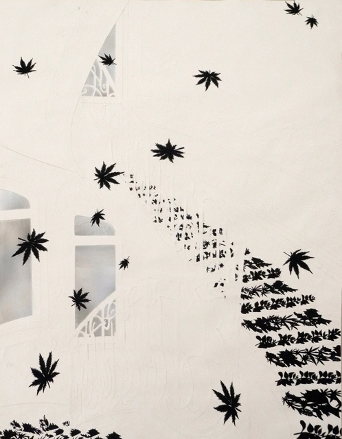 , 'The House of Falling Leaves,' 2010, Lora Reynolds Gallery