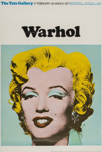 Andy Warhol, 'Poster for the Tate Gallery', 1971, Forum Auctions