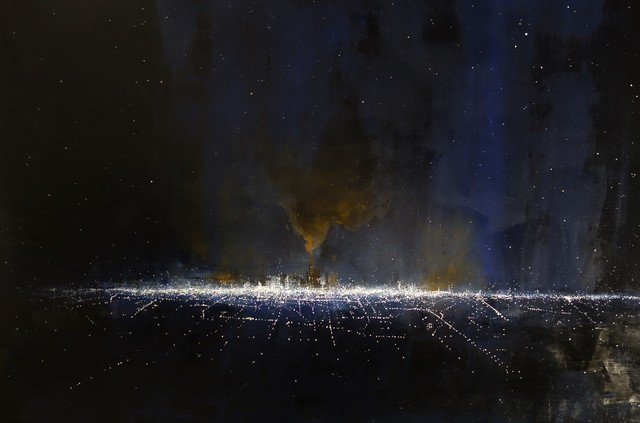 , 'The City Draped in Stars,' 2019, STUDIO Gallery