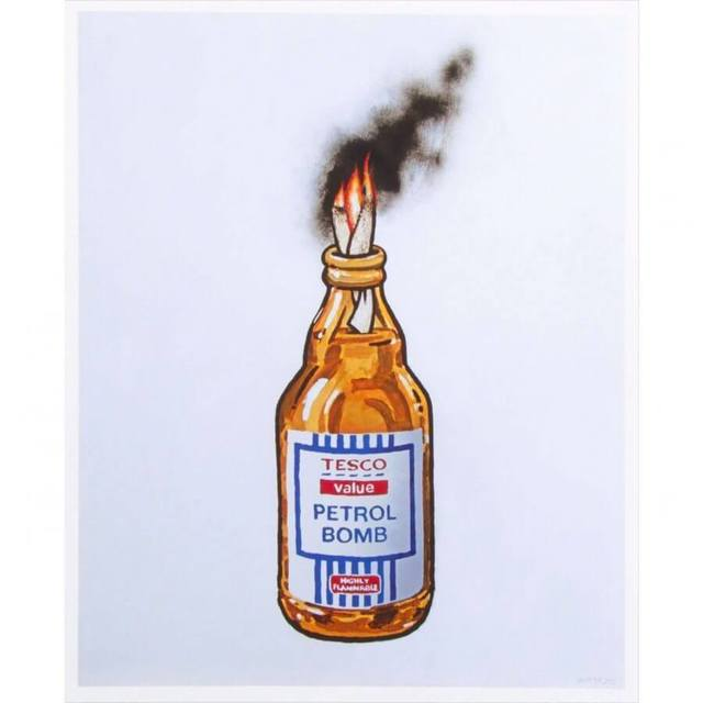 Banksy, 'Petrol Bomb', 2011, Lougher Contemporary Gallery Auction