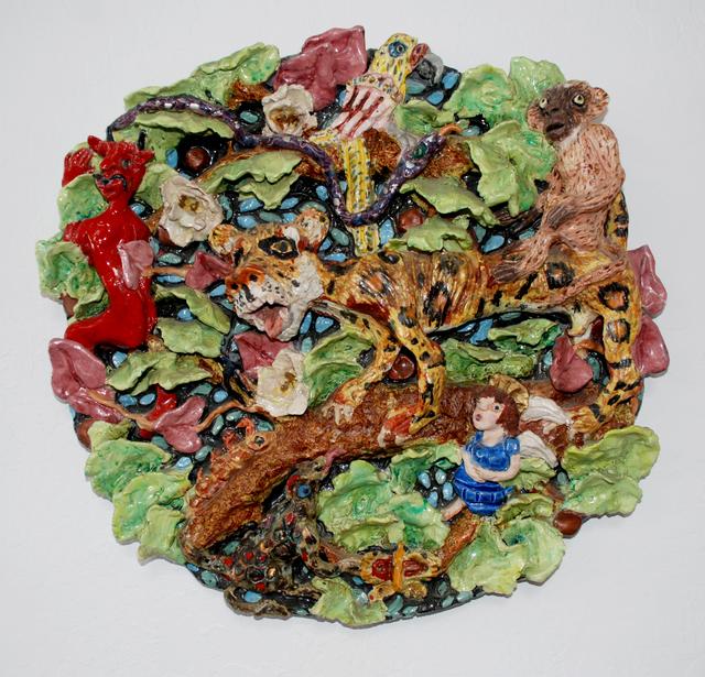 , 'Jungle Plate,' 1980, JAYJAY