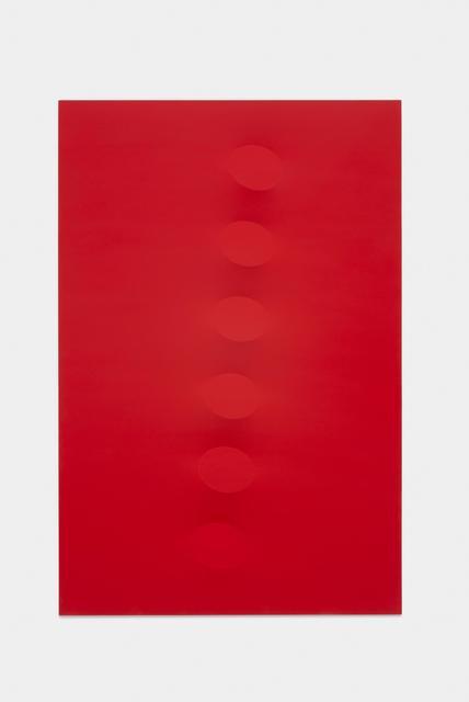 , 'Sei ovali rossi,' 2014, Almine Rech
