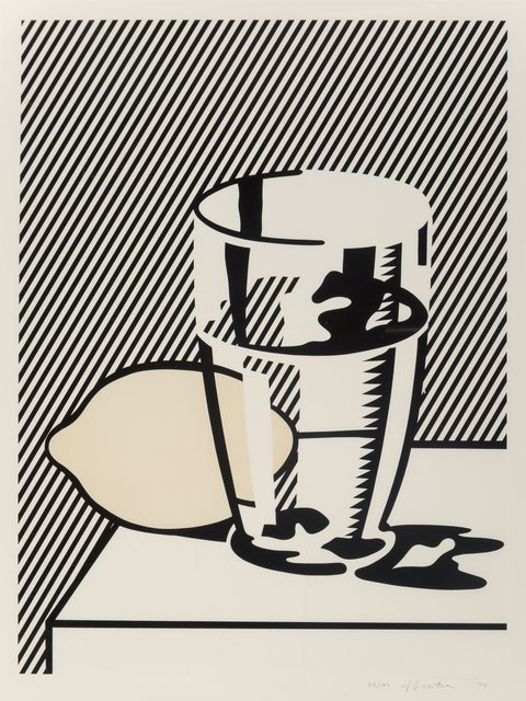 Roy Lichtenstein, 'Untitled (Still Life with Lemon and Glass), from For Meyer Schapiro', 1974, Heritage Auctions