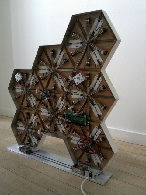 , '0rigam1- Rhombus freeform- Back View,' 2014, Muriel Guépin Gallery