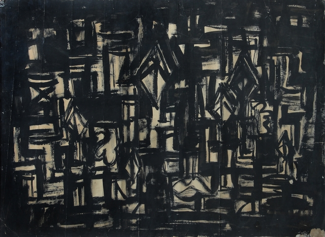 , 'Black Painting,' 1963, Aicon Gallery