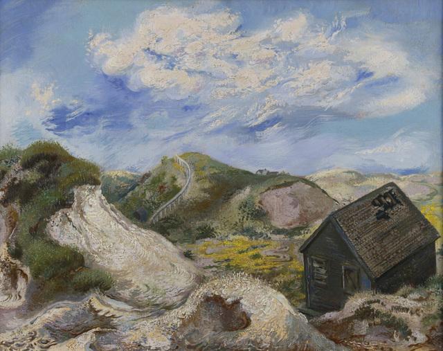 , 'Landscape Cape Cod. House in the dunes,' 1940, Henze & Ketterer
