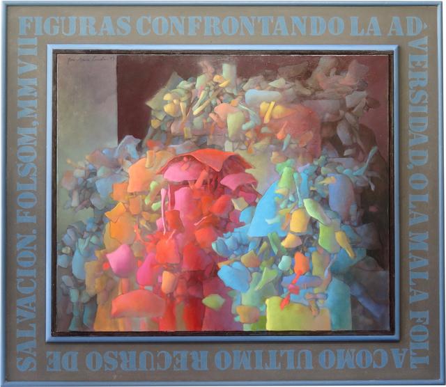 , 'Figuras Confrontando La Adversidad, O La Mala Folla Como Ultimo Recurso de Salvacion,' 2015, Callan Contemporary