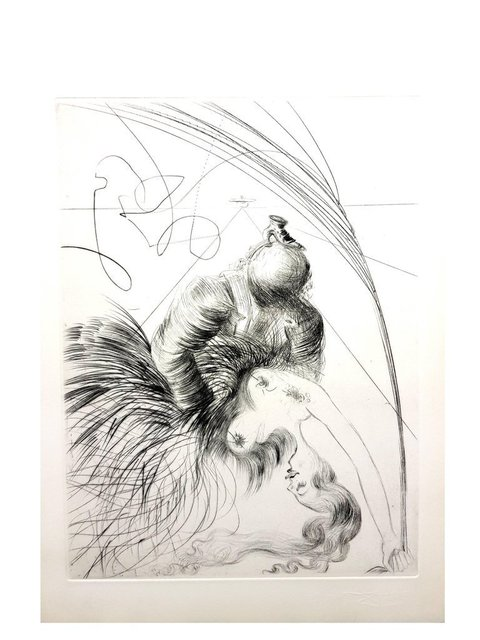 "Salvador Dalí, 'Original Etching ""Venus in Furs VI"" by Salvador Dali', 1968, Galerie Philia"