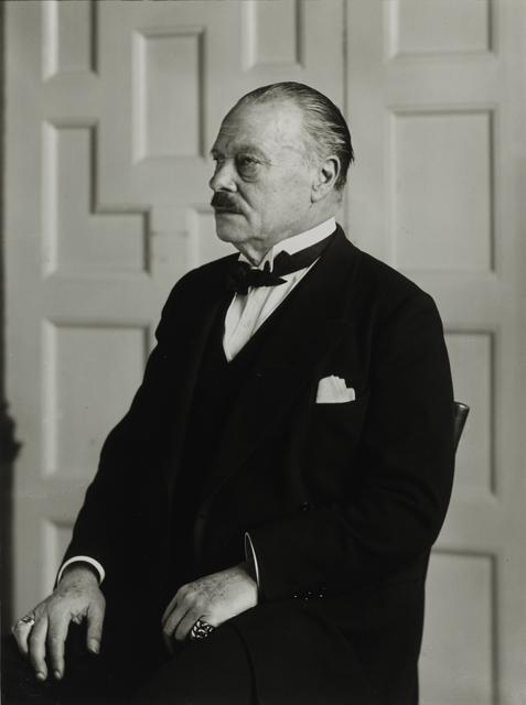 August Sander, 'Grand Duke [Ernst Ludwig von Hessen und bei Rhein], c. 1930', Galerie Julian Sander