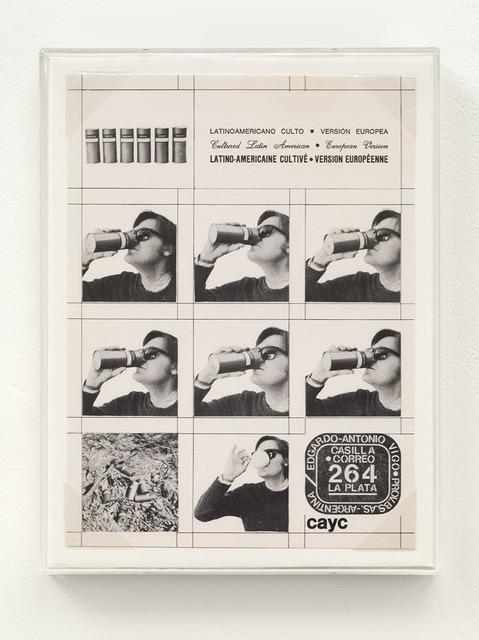 , 'Latin American Cult - European version,' 1975, Richard Saltoun